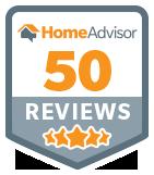 HomeAdvisor 50 Reviews