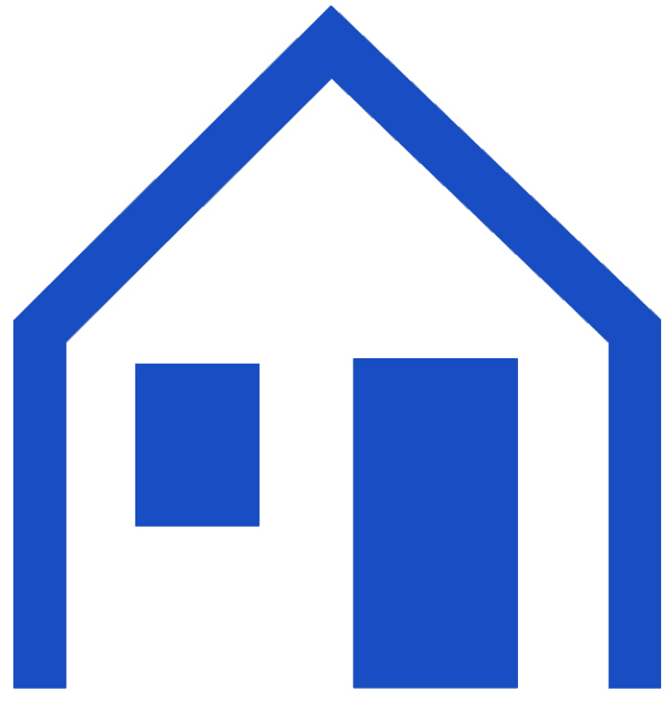Icon of a new construction house seen while home inspection services are being preformed